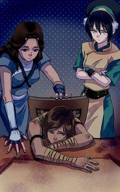 Avatar Women | by michaelavera | The Last Airbender | Legend of Korra | Avatar