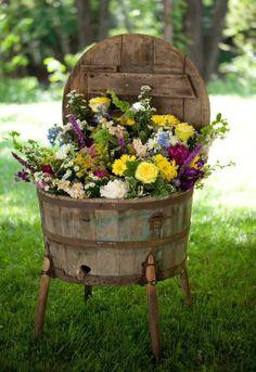 Olha que legal essa ideia para inovar no jardim!