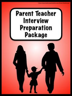 This product exists to help students and teachers prepare for parent-teacher interviews.  It includes the following:Parent Teacher Interview Schedule: A schedule for teachers to create that shows the dates, times and names of students in order of interview times.