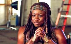 AMC have released a new promotional interview with Danai Gurira, who plays Michonne on the hit series The Walking Dead. Description from newsrender.com. I searched for this on bing.com/images