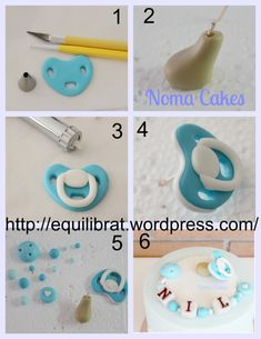 Cake Decorating With Fondant, Creative Cake Decorating, Cake Decorating Supplies, Cake Decorating Techniques, Cake Decorating Tutorials, Fondant Giraffe, Fondant Baby, Baby Shower Cakes Neutral, Baby Shower Cakes For Boys