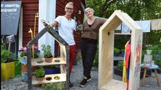 Bygg ett litet hus med flera användningsområden – det här blev ett klädskåp   Strömsö   svenska.yle.fi Garden, Garten, Lawn And Garden, Gardens, Gardening, Outdoor, Yard, Tuin