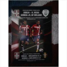 RARE PROGRAMME - Serbia v Republic of Ireland (International Friendly)