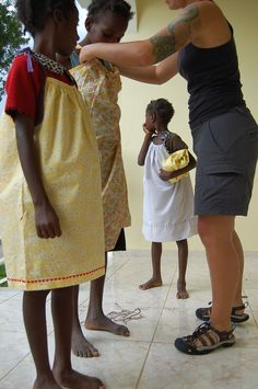 pillowcase dresses for haiti, may have teared up a little reading about all the crafty people helping girls in haiti