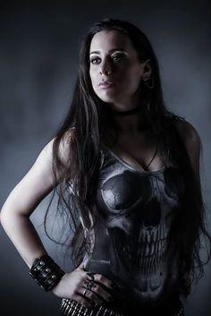 Nathalie Markoch | www.nathaliemarkoch,com #nmk #nathaliemarkoch #metal #peru #vocalist #blackmilk #death