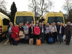 RAVENSHEAD COMMUNITY TRANSPORT: ANOTHER TRIP FOR THE U3A GROUP TO #YORK...