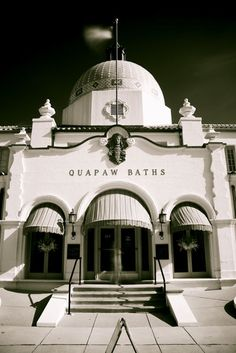 "The Quapaw Bathhouse, along Hot Springs' famed ""Bathhouse Row"", Hot Springs, Arkansas"