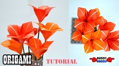 This is origami art world. We share various kinds of origami arts. So, you can learn origami arts from here. Easy Origami Flower, Origami Flowers, Origami Art, Origami Tutorial, Art World, Make It Simple, Projects To Try, Make It Yourself, Crafts