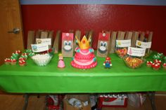 Super Mario Brothers Party for a girl!