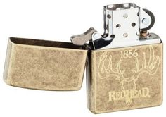 Zippo Lighter - RedHead Antique Brass