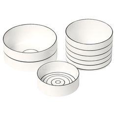 Design House Stockholm 3 Piece Bono Bowl Set