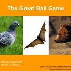 The Houghton Mifflin Reading, Grade 2, The Great Ball Game Common Core Standards resource is a teacher resource that supports both the Houghton Mif...