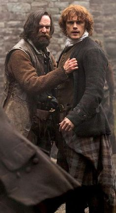 Murtagh and Jamie at Leoch