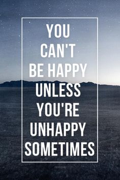 You just can't..