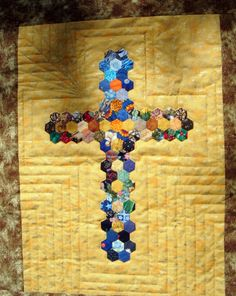 Pensando en Quilts: Sigo guateando mi cruz
