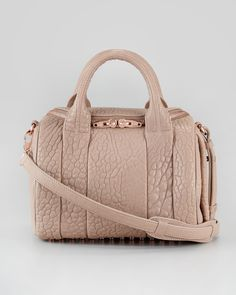 Alexander Wang Color:Latte Hardware:Rose Gold    Hopefully my next bag!