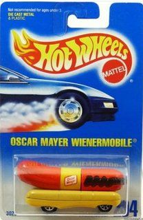 Oscar Myer Weiner Mobile....My bologna has a first name it's O-S-C-A-R ...my bologna has a 2nd name it's M-A-Y-E-R and I love to eat it every day...and if you ask my why I'll say...cause Oscar Mayer makes the best  B-O-L-O-G-N-A !