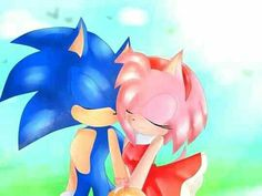 Sonic Fan Characters, Fictional Characters, Sonamy Comic, Sonic And Amy, Amy Rose, Sonic The Hedgehog, Comics, Drawings, Cute