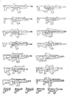 Drawing Tips gun drawing Drawing Reference Poses, Drawing Tips, Drawing Sketches, Art Drawings, Drawing Drawing, How To Draw Weapons, Gun Art, Weapon Concept Art, Weapons Guns