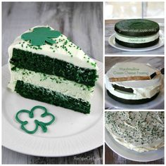 INGREDIENTS:      Cheesecake:  Two 8-ounce packages cream cheese, at room temperature  2/3 cup granulated white sugar  pinch of salt  2 large eggs  1/3 cup sour cream  1/3 cup heavy whipping cream  1 teaspoon vanilla extract  a few drops of green food coloring, if desired    Green Velvet