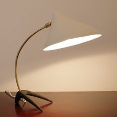 Desk lamp from the fifties by Louis Kalff for Erwi