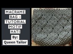 Macrame Bag, Macrame Knots, Micro Macrame, Crochet Bag Tutorials, Crochet Clutch, Diy Gift Box, Macrame Design, Macrame Projects, Macrame Patterns