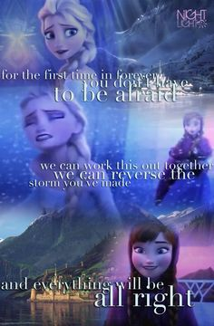 First Time In Forever (Reprise) ~ Anna and Elsa Disney Frozen Fan Art by Liz
