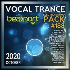 Beatport Vocal Trance: Electro Sound Pack #188 (2020) Trance, Electro Music, Musicals, Album, Trance Music, Musical Theatre, Card Book