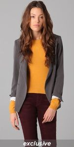 Mustard & Grey! and maroon.. everything I want in my life