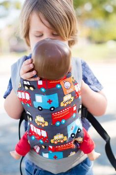 Look for Helpers - Tula Mini Toy Carrier