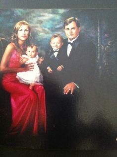 Stephane Marchand, his wife and children. Mr Marchand has prior experience with Lehman Brothers, UBS and Deutsche Bank.