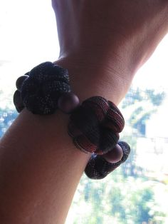 necktie bracelet by j_hiro, via Flickr                                                                                                            bracelet             by        j_hiro      on        Flickr