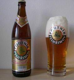 Poutník Beer Brands, All Brands, Czech Beer, Message In A Bottle, Beer Recipes, Beer Brewing, Brewery, Beer Bottle, Ale