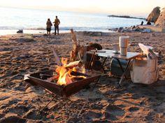 東京から1時間!日々の疲れを癒す三浦半島の「焚火カフェ」が話題   GATTA(ガッタ)