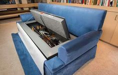Couch Gun Safe | Badass Hidden Gun Safe List #survivallife www.survivallife.com