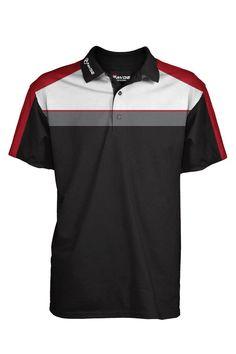 Fayde Golf Europe Black Men's Vent Fashion Golf Polo Polo Shirt Design, Polo Design, Polo Shirt Outfits, Mens Polo T Shirts, Mens Golf Outfit, Golf Attire, Camisa Polo, Womens Golf Wear, Golf 6