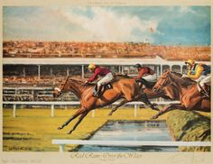 Two Neil Cawthorne prints of Red Rum signed by the