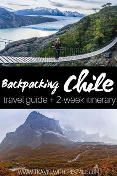Chile itinerary for 2 weeks & adventure travel guide to backpacking Chile - Travel tips - Travel tour - travel ideas Backpacking South America, South America Travel, Machu Picchu, Patagonia, Places To Travel, Travel Destinations, Holiday Destinations, Travel Photographie, Visit Chile