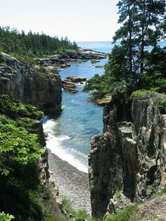 Acadia National Park, Maine  Been there done that,and it is beautiful.
