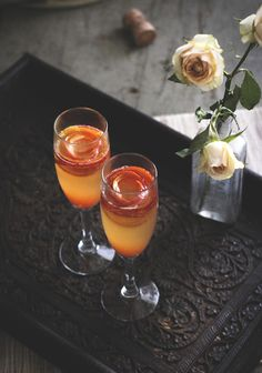 Blood Orange French 75 // Reclaiming Provincial