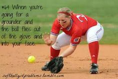 This is why our coach makes us wear facemasks and because i broke my nose playing softbal when i was 8.