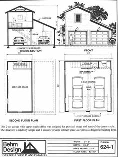 2 car garage with carport and extra storage on upper level for 24x26 garage plans