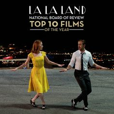 Mia (Emma Stone) and Sebastian (Ryan Gosling) are bringing back old-style song and dance movies in La La Land.
