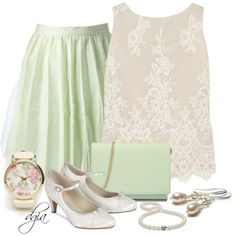"""""""DAILYLOOK Floral Face Watch"""" by dgia on Polyvore"""