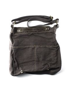 49 Square Miles - Classic Canvas Crossbody Charcoal