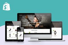 10 Best Shopify Themes images | Website themes, Simple