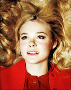 Amazing photo of Elle Fanning  alex prager
