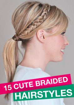 Try these updo braided hairstyles – they are all super cute!