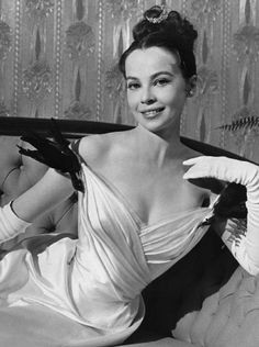 "Leslie Caron in 'GiGi'   ""The most important thing is to remain active and to love what you are doing.""- Caron"