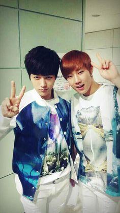 Myungsoo and Sunggyu - Infinite